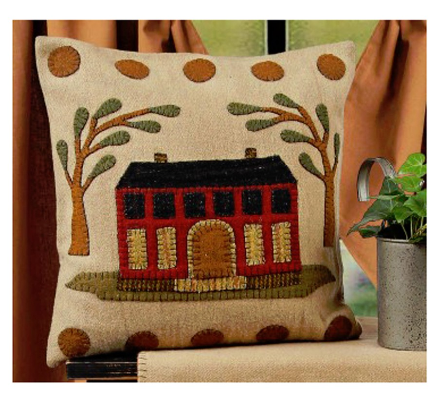Primitive Hooked Wool Pillows Rugs And Wall Hangings